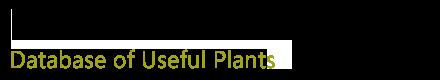 资源植物数据库